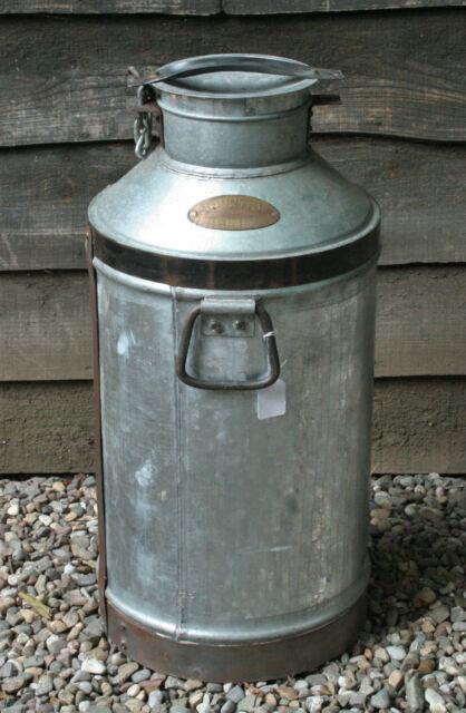 Vintage Style Steel Milk Churn Country Dairies Industrial