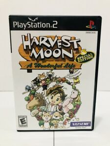 Details about Harvest Moon: A Wonderful Life Special Edition Playstation 2 PS2