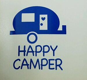 Image Is Loading Happy Camper Decal Great For Car Truck Window