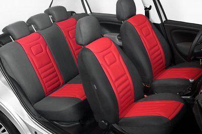 Autositzbezüge Sitzbezüge Maßgefertigt für Dacia Dokker Erjot Grau
