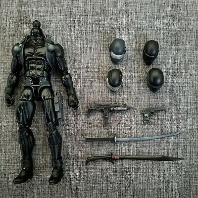 Custom Sculpt G.I Joe Snake-Eyes UnPainted head Cast Articulated Icons scale 6/""