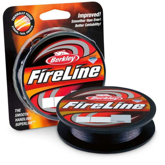 Berkley NEW Fireline Fused Braid Smoke Fishing Line 300 Yards SALE *All Types*