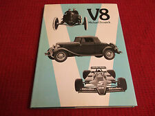 Book. V8. Michael Frostick. Pictorial Record of Cars with V8 Engine. 1st. Ford.