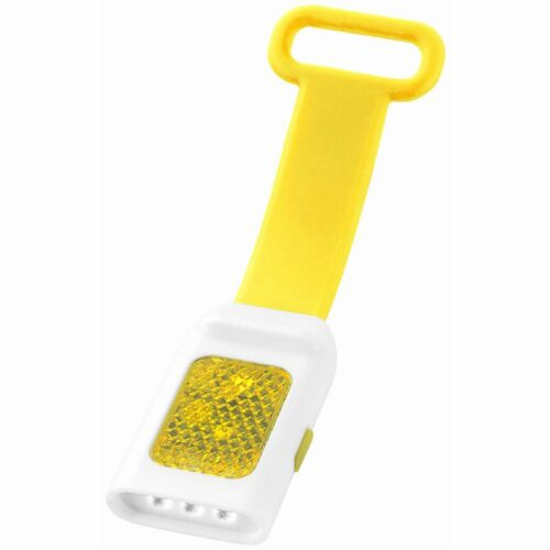 Fanalino Fanale Seemii Luce 3 LED Bianchi Fissa e Lampeggiante per Bici Zaini