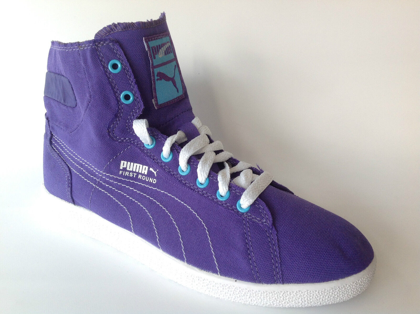 PUMA Wn's HI TOP CHAUSSURES SPORT BASKETS SNEAKERS violet taille 36