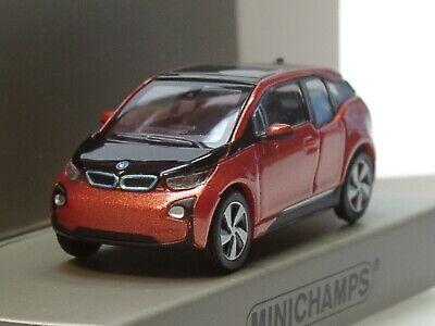 Minichamps 1:87 BMW I3-2014 rotmetallic