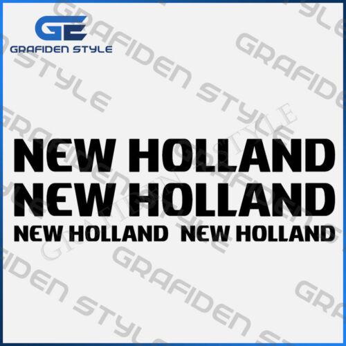 Sticker Bagger Aufkleber 4 Stück NEW HOLLAND Decal !