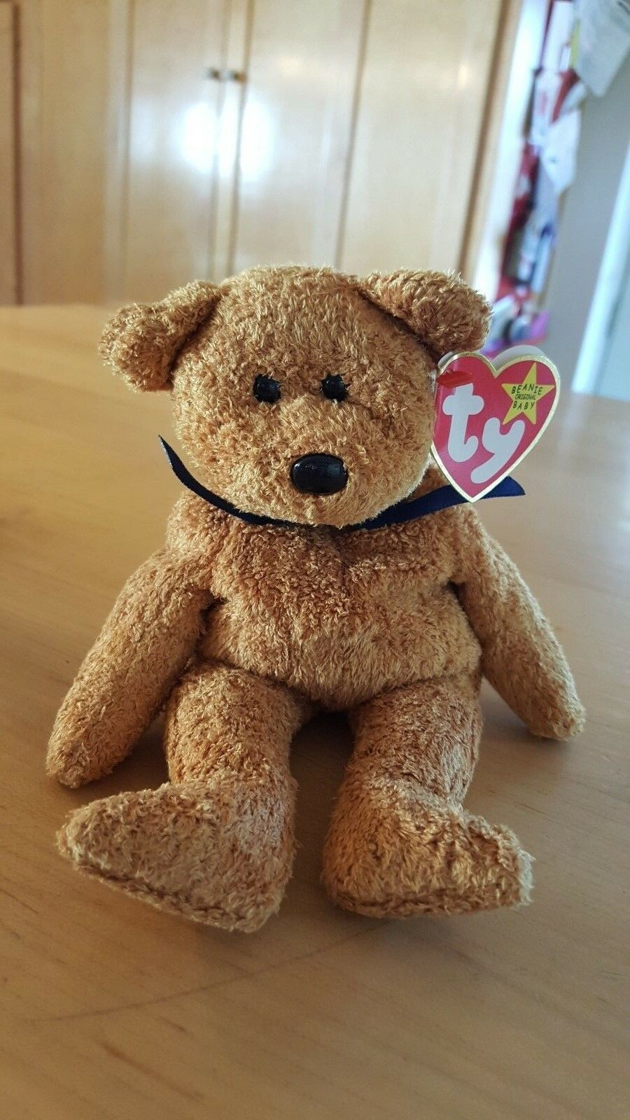c7b487e83af Ty FUZZ Very Rare orig 1998 collectible with Tag Errors. Beanie Baby ...