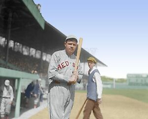 Babe ruth 1919 baseball yankees red sox boston color id for Babe ruth coloring pages