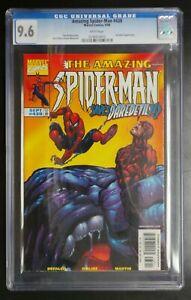 Amazing Spider-Man #438 Marvel Comics CGC 9.6 White Pages Daredevil App