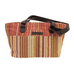 Small-Boho-Tote-Bag-for-Women-Canvas-Travel-Orange-Shoulder-Purse-Leather-Straps