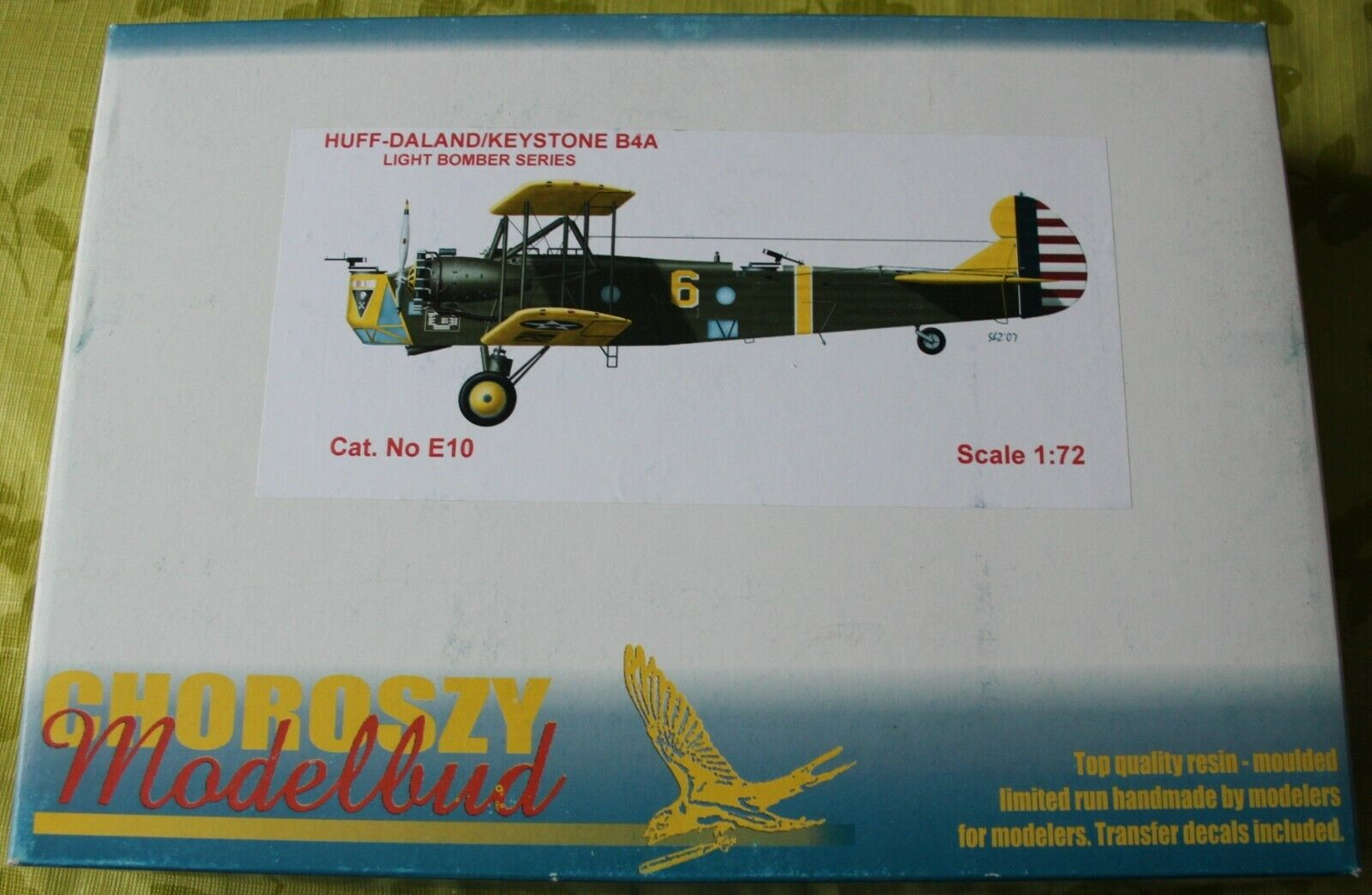 E10-HUFF-DALAND KEYSTONE B4A-LIGHT BOMBER SERIES-Chgoldszy Modelbud-1 72