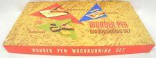 Vintage Wonder Pen Woodworking Woodburning Set