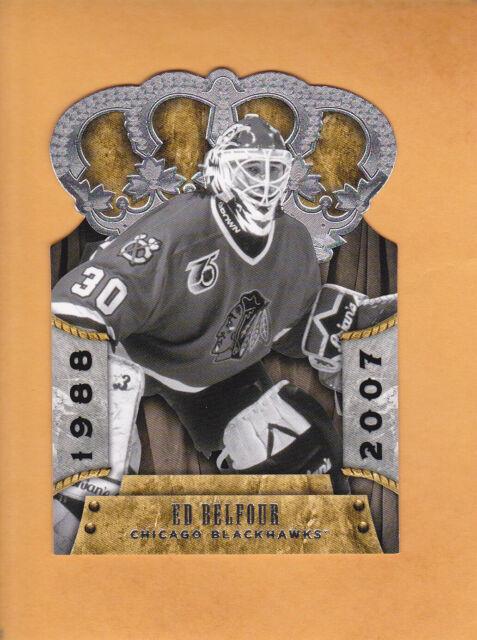 2011 12 CROWN ROYALE # 113 ED BELFOUR CHICAGO BLACKHAWKS ** FREE SHIPPING **