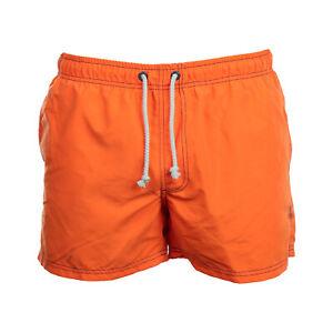 TEISUMI  Badehose Orange - Herren