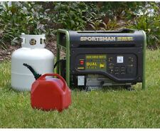 Power Generator Portable Quiet Liquid Propane Dual Gas Powered 4000 Watt LPG