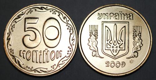 2009 Ukraine 50 Kopiyok Coin BU Very Nice  KM# 3.3b