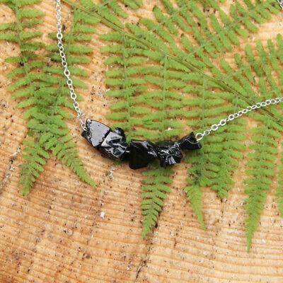 Shungite Jewelry Elegant Pendant EMF Protection,Healing Crystal,Healing Stone