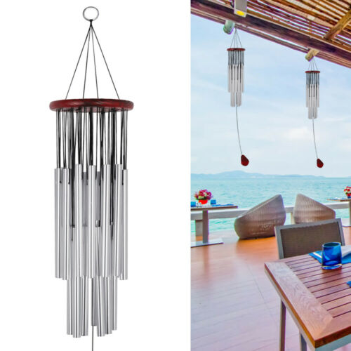 Amazing Grace Extra Large Wind Chimes 6//27 Metal Tubes Outdoor Home Garden Decor