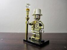 Mr Gold Lego Compatible UK RARE Minifigure Series 10 FAST SHIPPING
