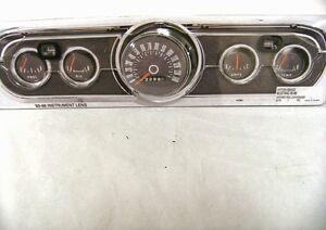 Instrument Bezel Lens 1965 Mustang