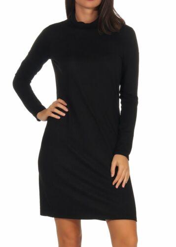 Damen Kleid Strickkleid Damenkleid Minikleid Dress Rollkragen Vero Moda Malena