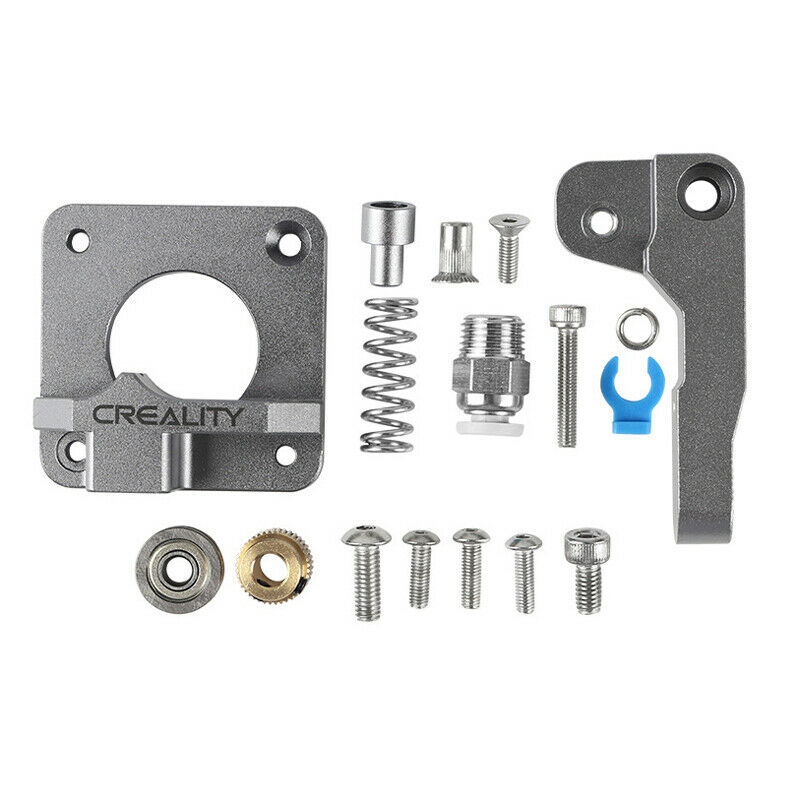 Aluminum Block Silver Metal Extruder Kit for Creality 3D Ender 3/3 Pro/5/CR-10/1