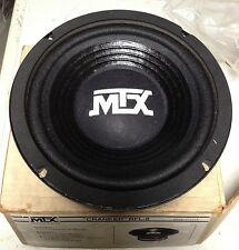 "NEW Old School MTX RFL-8 ""Cranker"" 8"" Subwoofer,Rare,Vintage,NOS,MADE IN THE USA"
