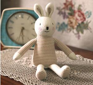 Baby Rabbit Doll Kids Toy Organic Bunny Safe Sleep Toys Eco Doll No Skin Problem