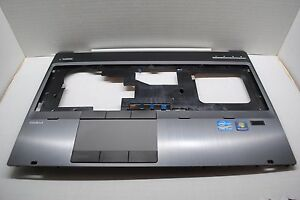 Details about HP EliteBook 8560w Laptop Palmrest Touchpad Finger Scanner  652652-001