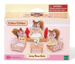 Calico Critters Living Room.Details About Calico Critters Living Room Suite 10 Piece Toy Play Set New Nib Fast Ship