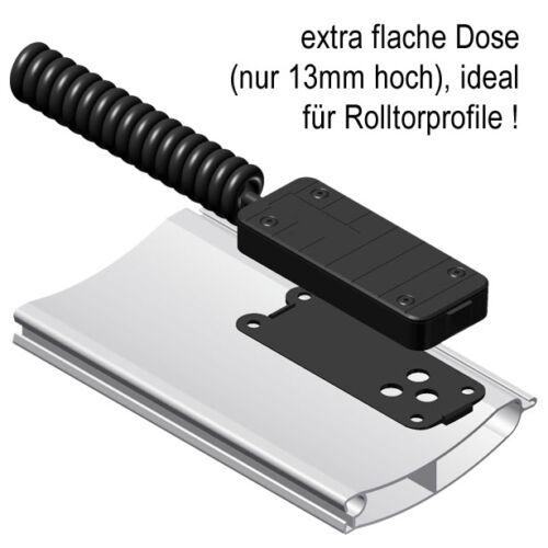 Anschlussdose f Spiralkabel und Schließkantensicherung Tor Sektionaltor Rolltor