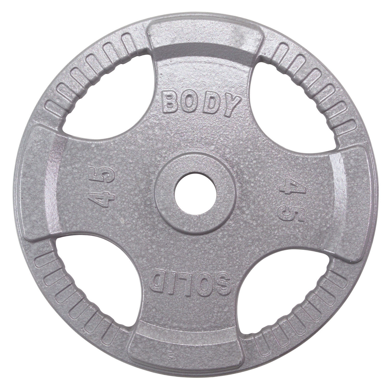 455 lbs.  of Steel Grip Weight Plates - Item  OST455 Body-Solid  online discount