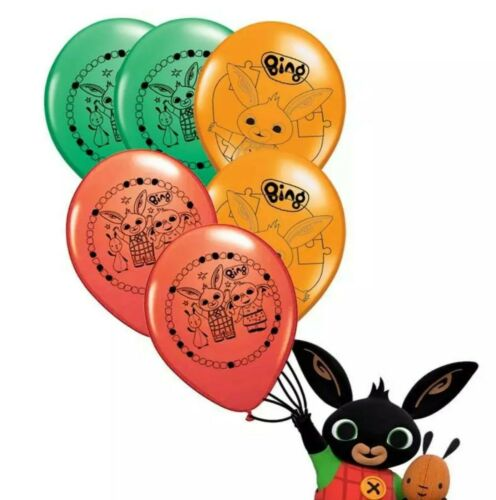 BING BUNNY RABBIT Friends Foil Latex Balloons Plates All Party Supplies Decor
