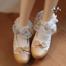 1/4 BJD Shoes MSD AOD DOD SOOM LUTS Dollfie DREAM Shoes Lace Lolita Shoes 0506