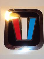 Wellcraft Marine Vinyl Chrome W Decals 2 Wellcraft Square Boat Decals