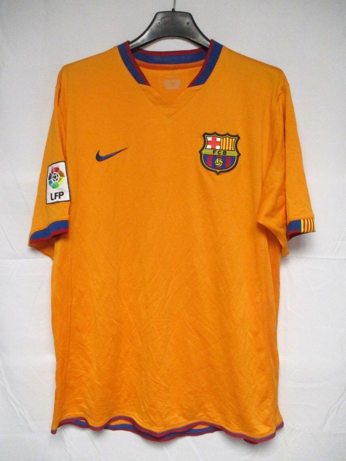 Maillot F.C BARCELONE BARCELONA 2007 vintage NIKE shirt away jersey camiseta M