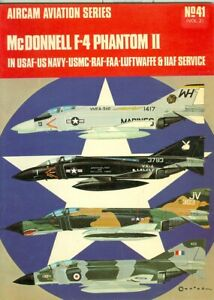 Details about Osprey-Aircam-Vietnam-Aviation-USN-USMC-F-4 Phantom II-Unit  Colors-Detail-Vol 2!