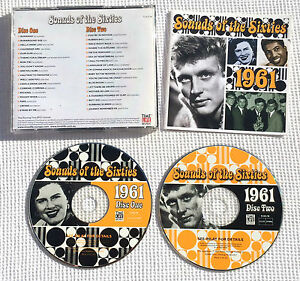 Sounds-of-the-sixties-1961-time-life-RARE-CD-TL-SCC-18-Holland-B-V