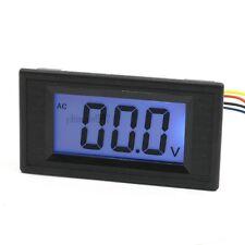 Blue Panel Mount Lcd Display Voltage Measuring Volt Meter Ac 200v Yb5135d