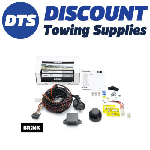 Brink 7 Pin Towbar Dedicated Wiring Kit for FORD FIESTA Hatchback 07//17 />
