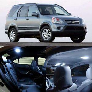 Honda-CRV-2000-2010-Interior-light-LED-upgrade-kit-for-Map-Dome-amp-Cargo-6pcs