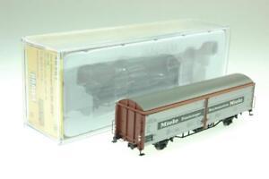 Brawa-H0-48987-gedeckter-Gueterwagen-Miele-Hbis-299-der-DB-NEU-und-OVP