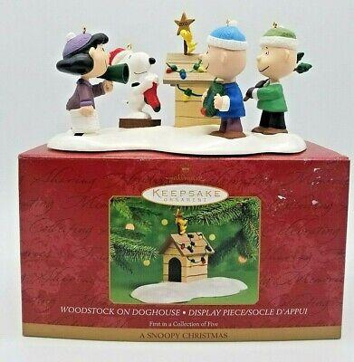 Hallmark Peanuts A Snoopy Christmas 2000 Keepsake ...