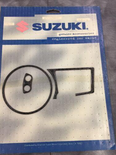 Suzuki OEM Carbon Fiber Speedometer Trim