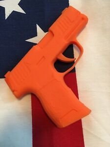 Rubber Training Gun Sig Sauer P365 Model Orange