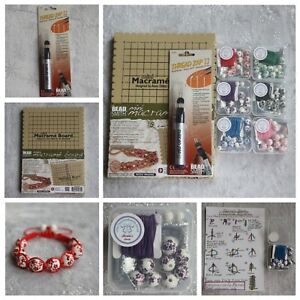DIY-Mini-Macrame-Bead-Jewellery-Bracelet-Making-Kit-Thread-Zapper-Zap-II-2