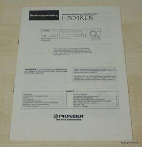 Pioneer-F-504RDS-Bedienungsanleitung-Deutsch