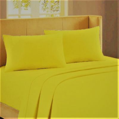 1000 TC Egyptian Cotton Sheet Set//Fitted//Duvet//Pillow White Solid US Sizes