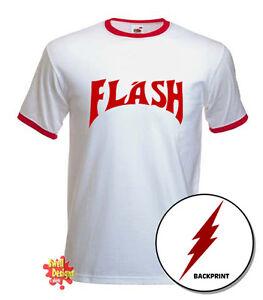 Floordrobe Abbigliamento Flash Gordon T Shirt 80s Queen